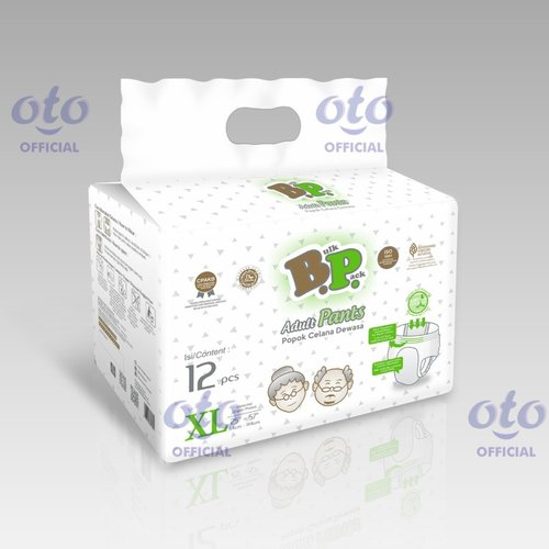 BP Diapers Adult Pants Popok Dewasa model Celana size XL isi 12 pcs (BAP-12XL)