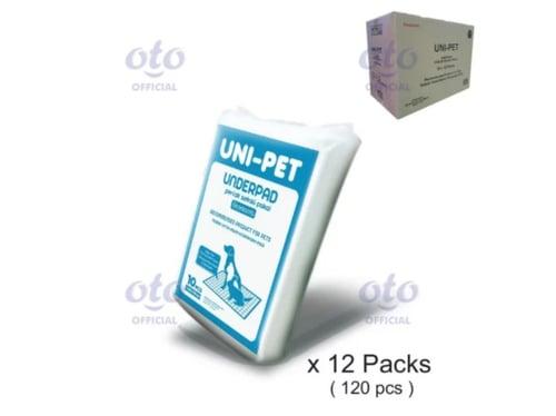 UNDERPAD UNI PET 60 X 90 isi 10 pcs x 12 (UN-60X90-12)