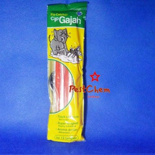 Lem Lalat Stick Sedotan Cap Gajah - Insect Fly Catcher