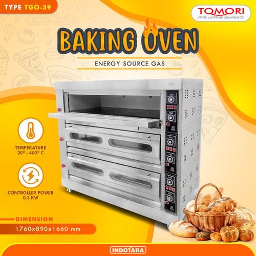 Baking Oven Gas Oven Gas Tomori TGO39