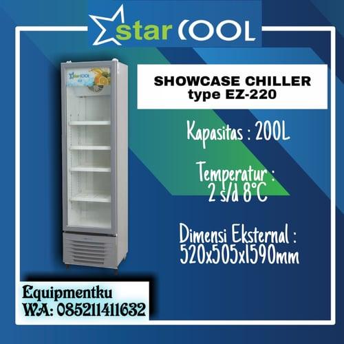 SHOWCASE LOKAL STARCOOL TYPE EZ-220