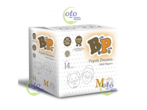 BP Popok Dewasa Adult Diapers model Lem Perekat ukuran M L isi 14 pcs (BP-14M)