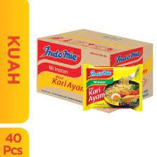 INDOMIE Kari 1 KARTON ISI 40 PCs