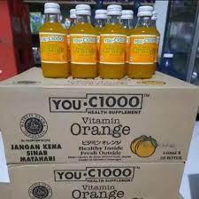 You C1000 Orange 140ml per dus isi 30 botol