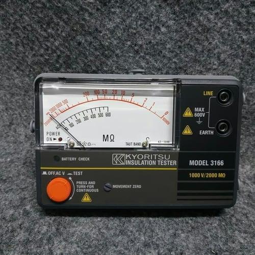 Kyoritsu Insulation Tester 3166