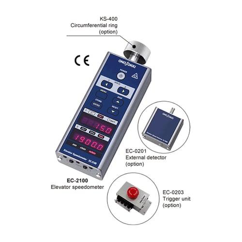 ONO SOKKI Japan Elevator Speedometer EC-2100