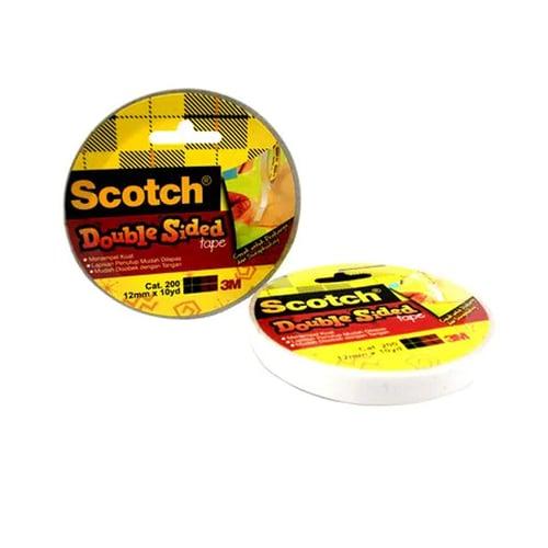 SCOTCH 200S Scotch Double Sided Tape 12mm X 10Y