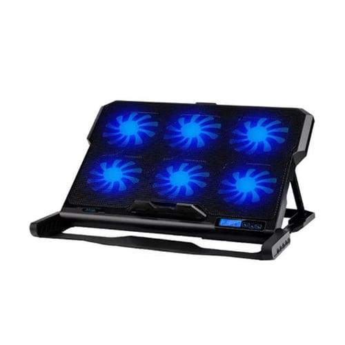 ICE COOREL Cooling Pad Kipas Laptop 6 Fan - K6 Bagus