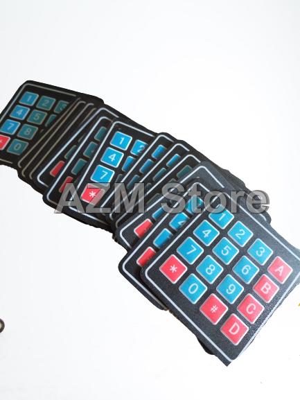 Papan Tombol Keypad Pencetan Pom Mini Digital