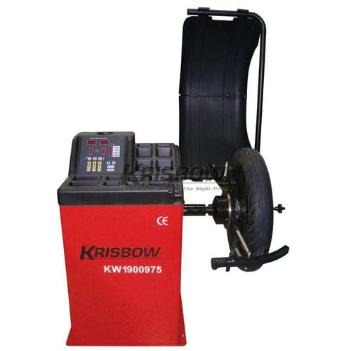 KRISBOW KW1900975 Wheel Balancer 10-24In Car-Motor 200W