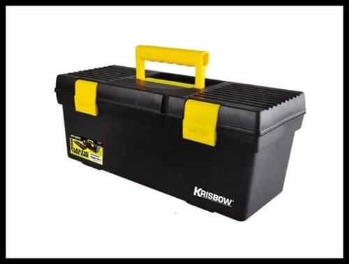 Krisbow Toolbox Plastik w/ Lock & Handle  20 Inch