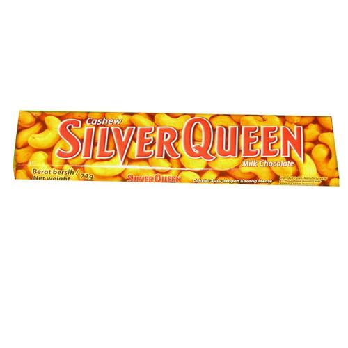 SILVER QUEEN Cashew Milk Chocolatte 68gr