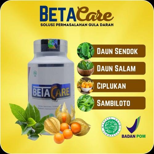 Betacare Obat Herbal Diabetes Basah Kering Diabet Kencing Manis Gula