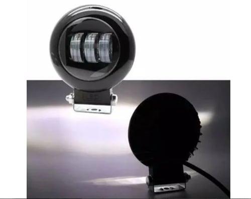 Lampu Sorot Foglamp Daymaker 4.5 Inch Sinar Cut off Fog lamp Lampu Bemper Sepeda Motor Custom 12V 24V Universal Mobil Truk