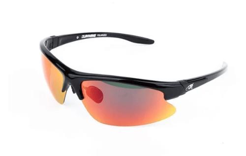 DK Sunglasses Red Tail S15 TAC Model 5903 Black Red Revo