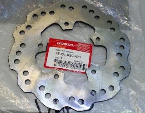 Piringan disk disc dis cakram depan Vario 150 new 2018 original hgp 45351k59A71