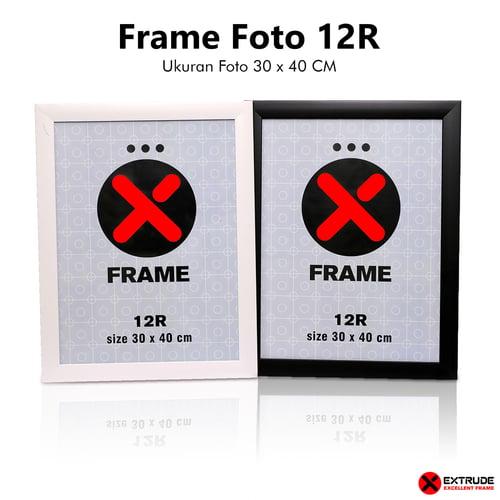 Bingkai Foto/Frame Foto/Pigura Foto 12R (30x40 CM)