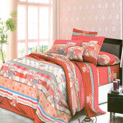 ROSEWELL Bed Cover Microtex Disperse 200x200cm 05211 Red