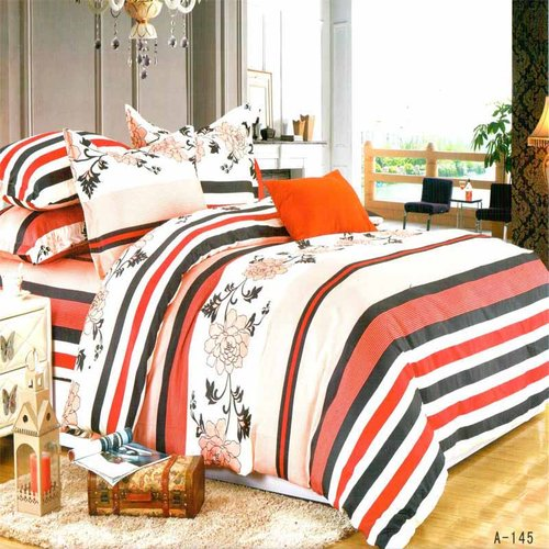 ROSEWELL Bed Cover Microtex Disperse 200x200cm A145