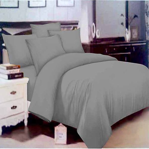 ROSEWELL Bed Cover Microtex Disperse Polos 200x200cm Grey