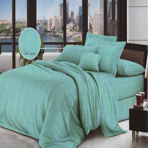 ROSEWELL Bed Cover Microtex Emboss Salur 160x200cm L Tosca