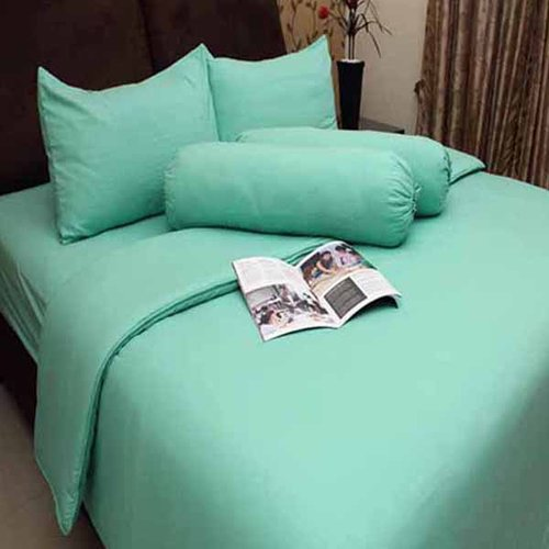 ROSEWELL Bed Cover Microtex Disperse 160x200cm Hijau Muda