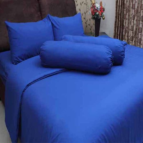 ROSEWELL Bed Cover Microtex Disperse Polos 120x200cm D Biru