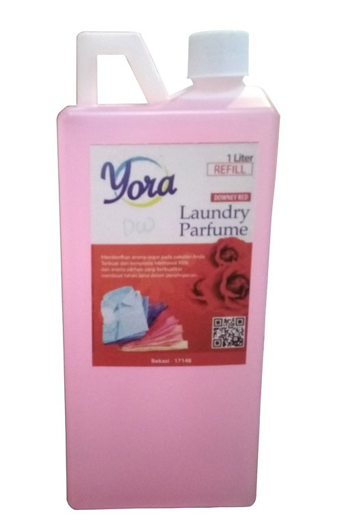 YORA Refill Parfum laundry Aroma Downy Red 1 liter