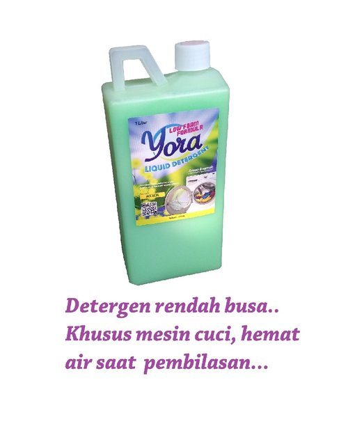 YORA Detergen Cair Low Foam Aroma Acasia 1 liter