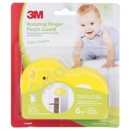 3M COMMAND SC-11R Child Rotating Finger Guard Chick - Pelindung Anak dari Terjepit Pintu - 1 Each - Kuning