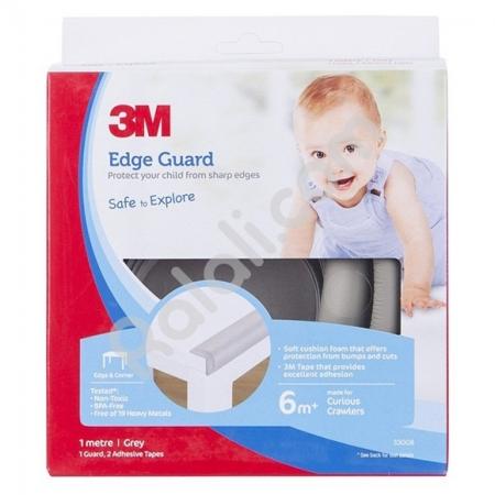 3M COMMAND SC-221 Child Edge Guard Grey 1M - Melindungi Anak dari Tepi Meja yang Tajam - Abu