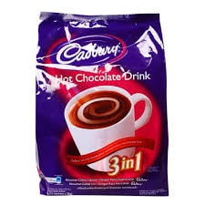 CADBURRY Hot Chocolate Drink 3in1 30gr Isi 15 Sachet