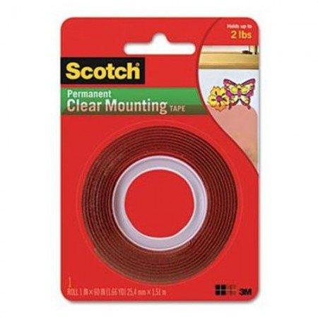 SCOTCH Mounting Transparent 4010 1A 7100011580 21mmx80cm