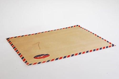 AIR MAIL BHG Amplop Coklat 312 T. Tali 10 Pack