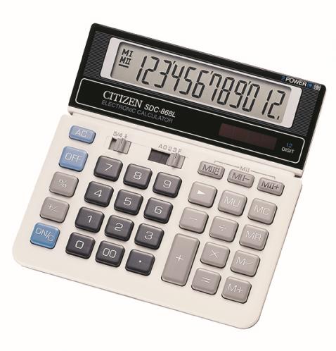 CITIZEN Kalkulator SDC 868L 12 Digit