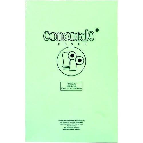 CONCORDE Kertas F4 80530 220gr 1 Pack Isi 10 pcs