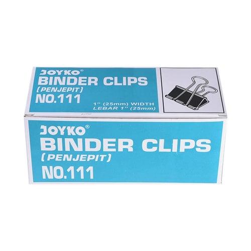 JOYKO Binder Clips No.111 1 Pack Isi 12 pcs