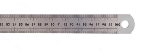KENKO Mistar Besi 100cm 1 Pack Isi 12pcs