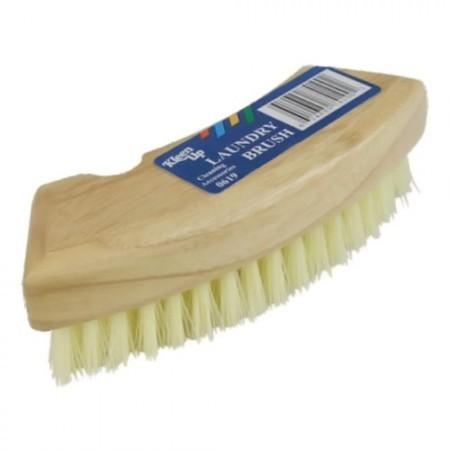 KLEEN UP Wooden Laundry Brush 0619