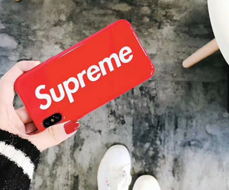 Supreme Softjacket for Apple IphoneX - RED