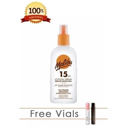 Malibu Medium Prot Lot 200 Spf15 Spray