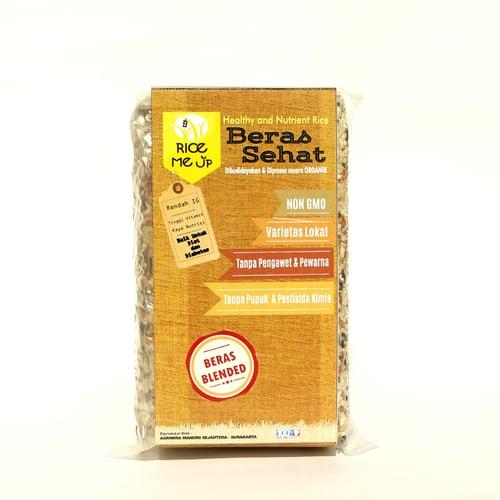 Beras Blended For Diet &Diabet Organik Rice Me Up 500 gr