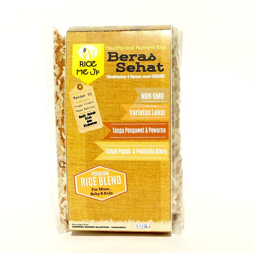 Beras Mix For Baby Organik Rice Me Up 500 gr