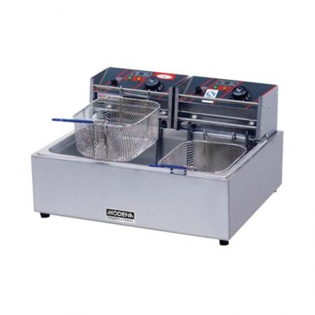 MODENA FF 4520ES Electric Fryer Single, 11 L, 550x460x310mm, 2 Burners, 1 Tanki, 5 kW
