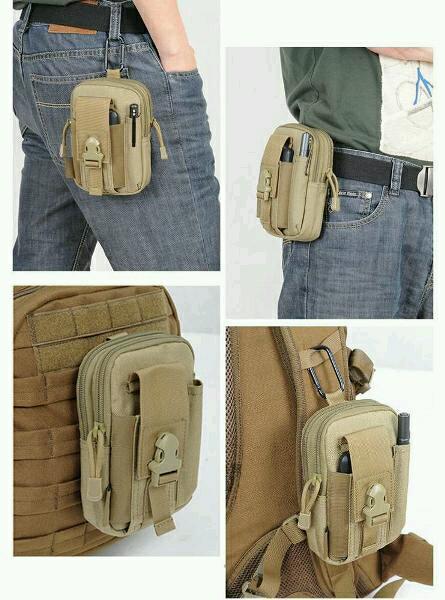 waist bag tactical army tas pinggang multifungsi