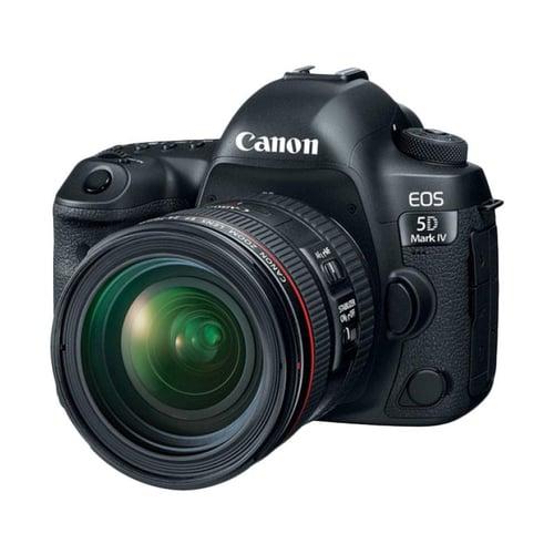 Canon EOS 5D Mark IV Kit 24-70mm f/4.0L IS USM Kamera DSLR - Black
