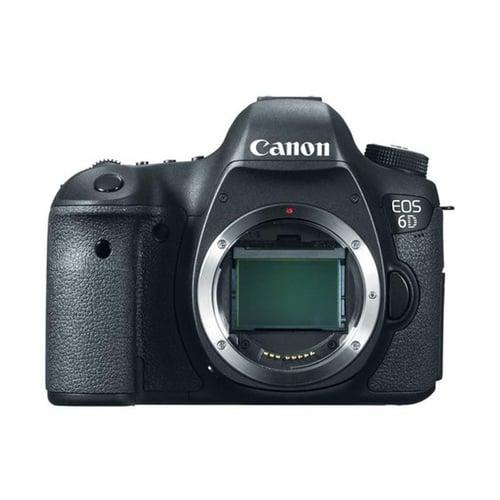 Canon EOS 6D  Body Only Hitam Kamera DSLR
