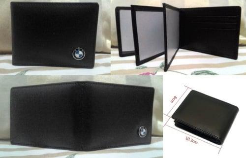 Dompet BMW Logo Slim Genuine Leather. 10,3x8x1,5