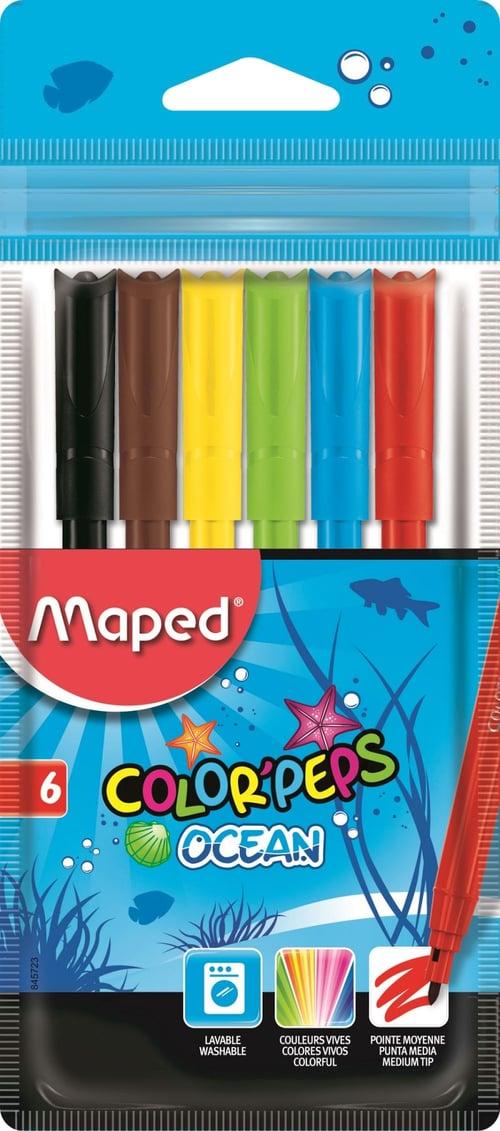 MAPED Spidol Ocean 6 Cardboard