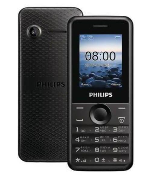 PHILIPS E103 Resmi Black